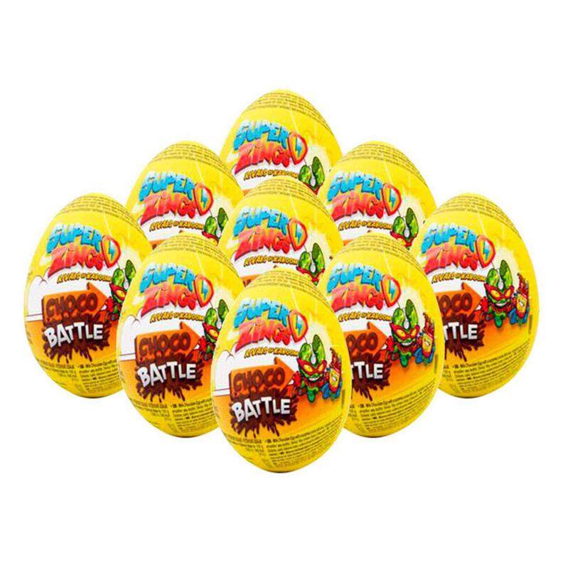SuperZings Huevo de Chocolate ChocoBattle 20g