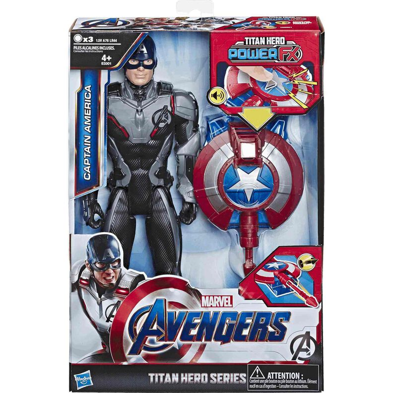 Avengers Titan Hero FX Capitán América