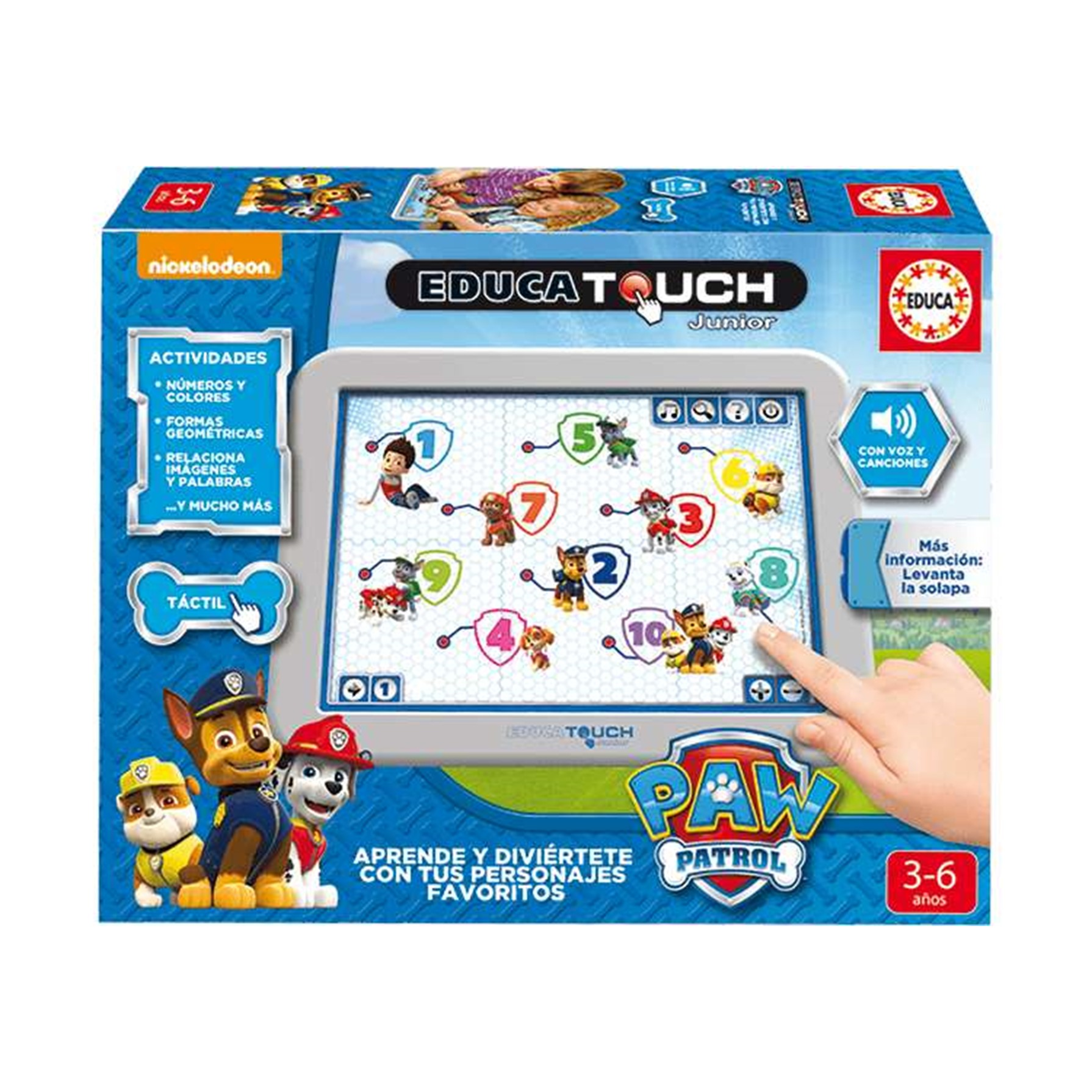 Patrulla Canina Educa Touch Junior