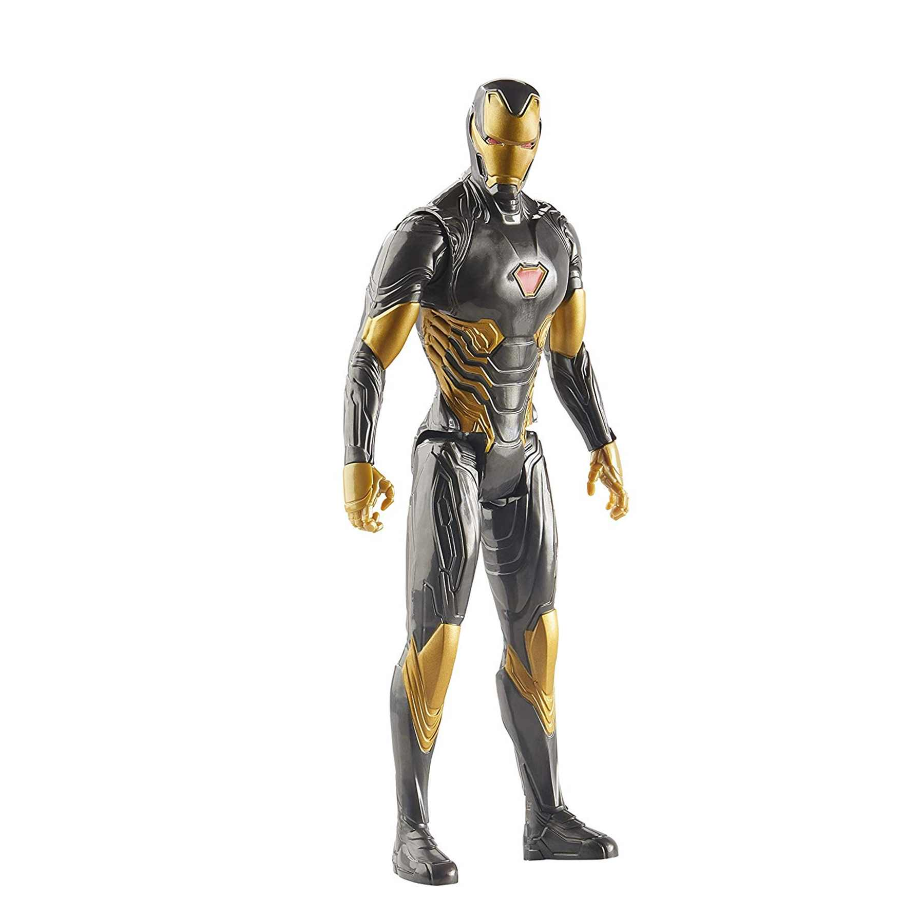 Avengers Figura Titan Hero 2020 Iron Man Gold