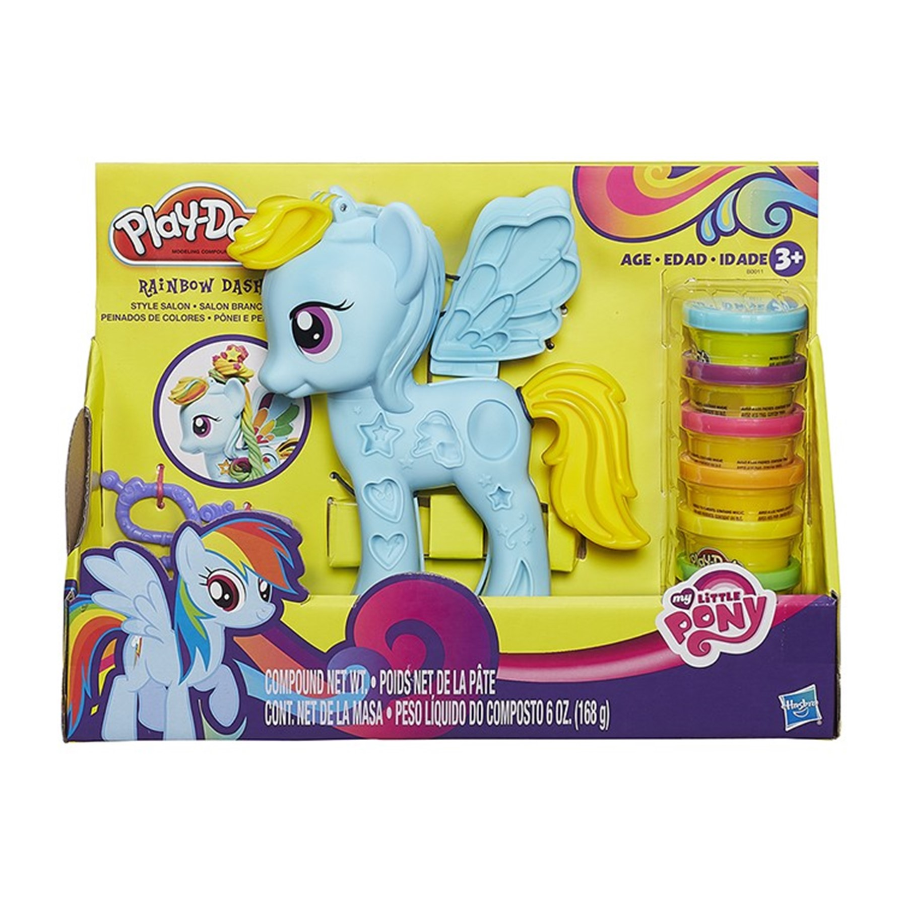 PlayDoh My Little Pony Rainbowdash
