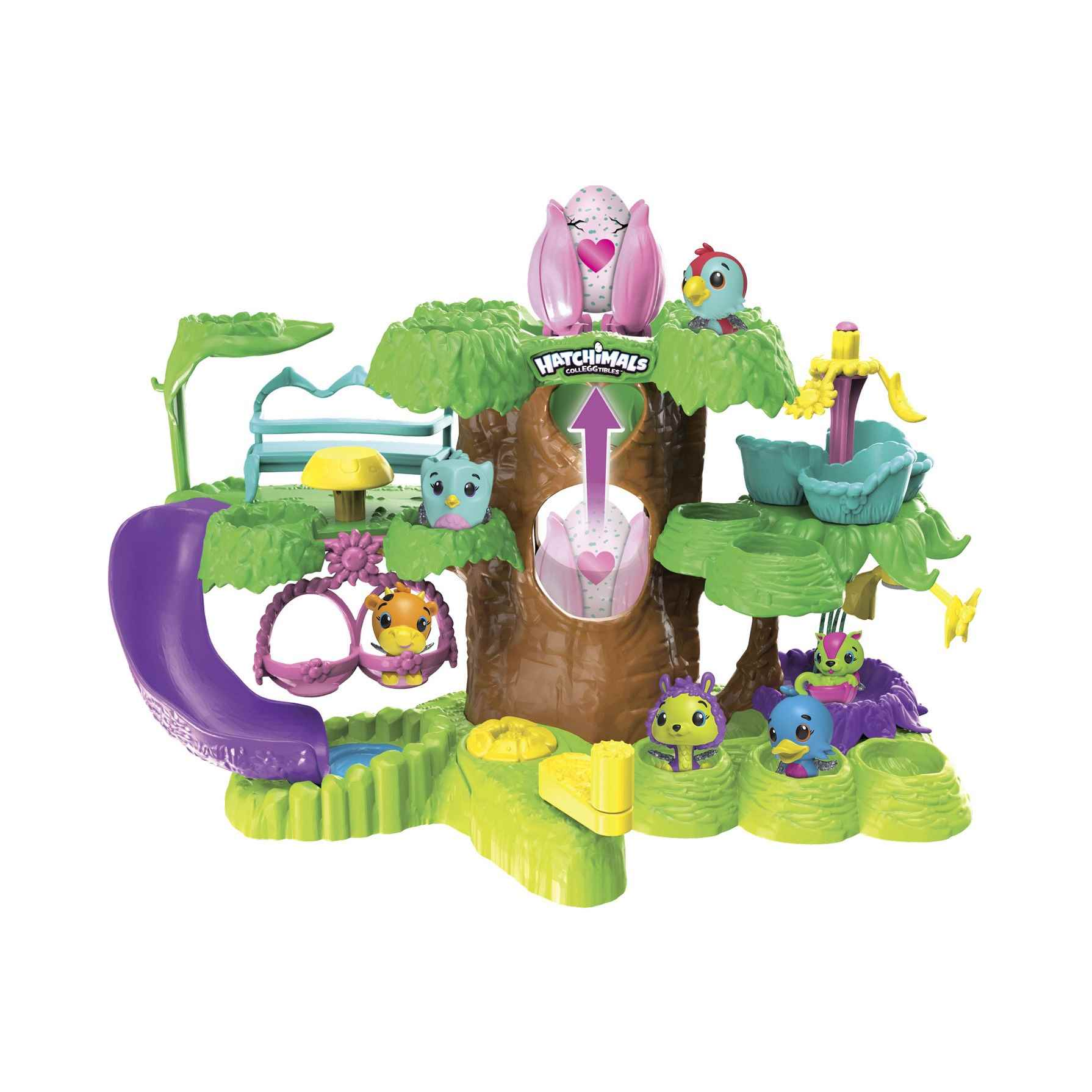 Hatchimals Playset Guardería