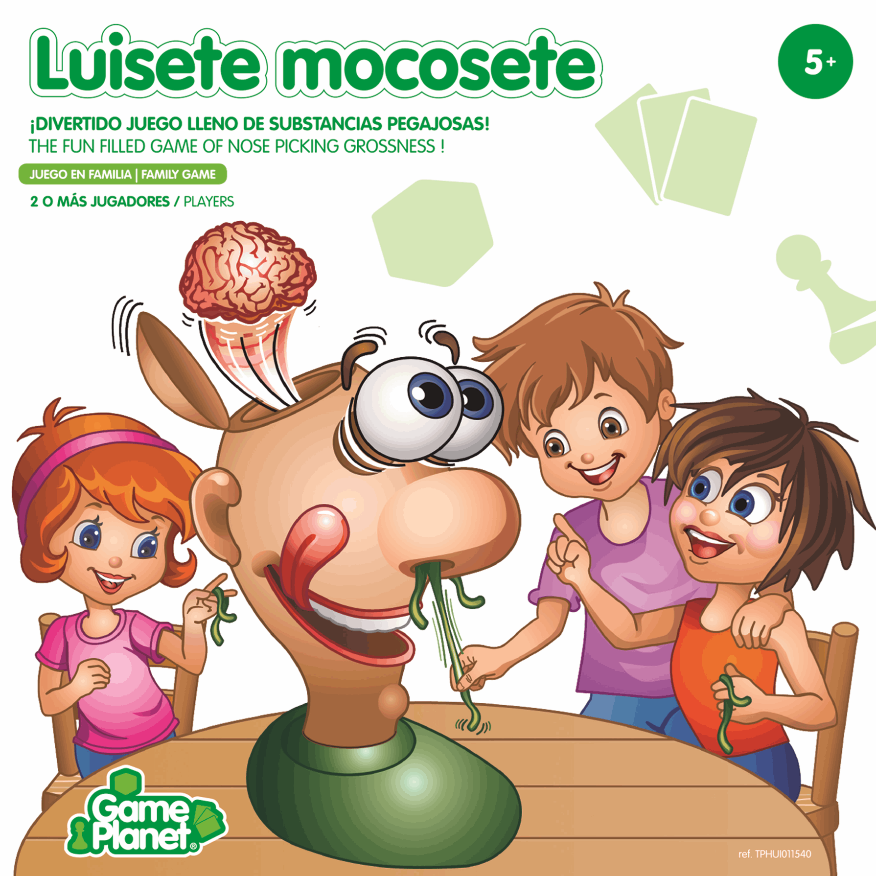 Game Planet Luisete Mocosete
