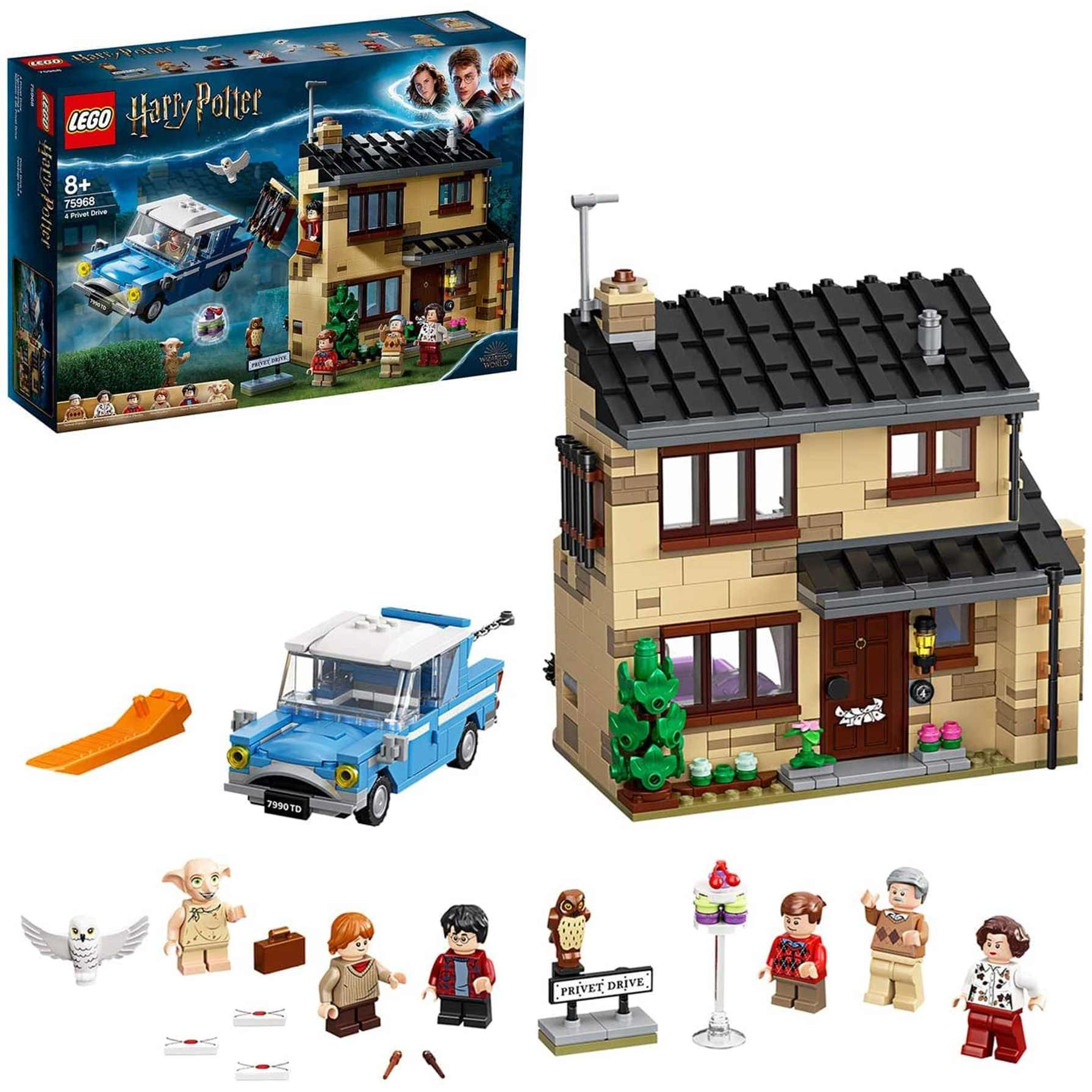 lego harry potter número 4 de privet drive (75968) toy planet.
