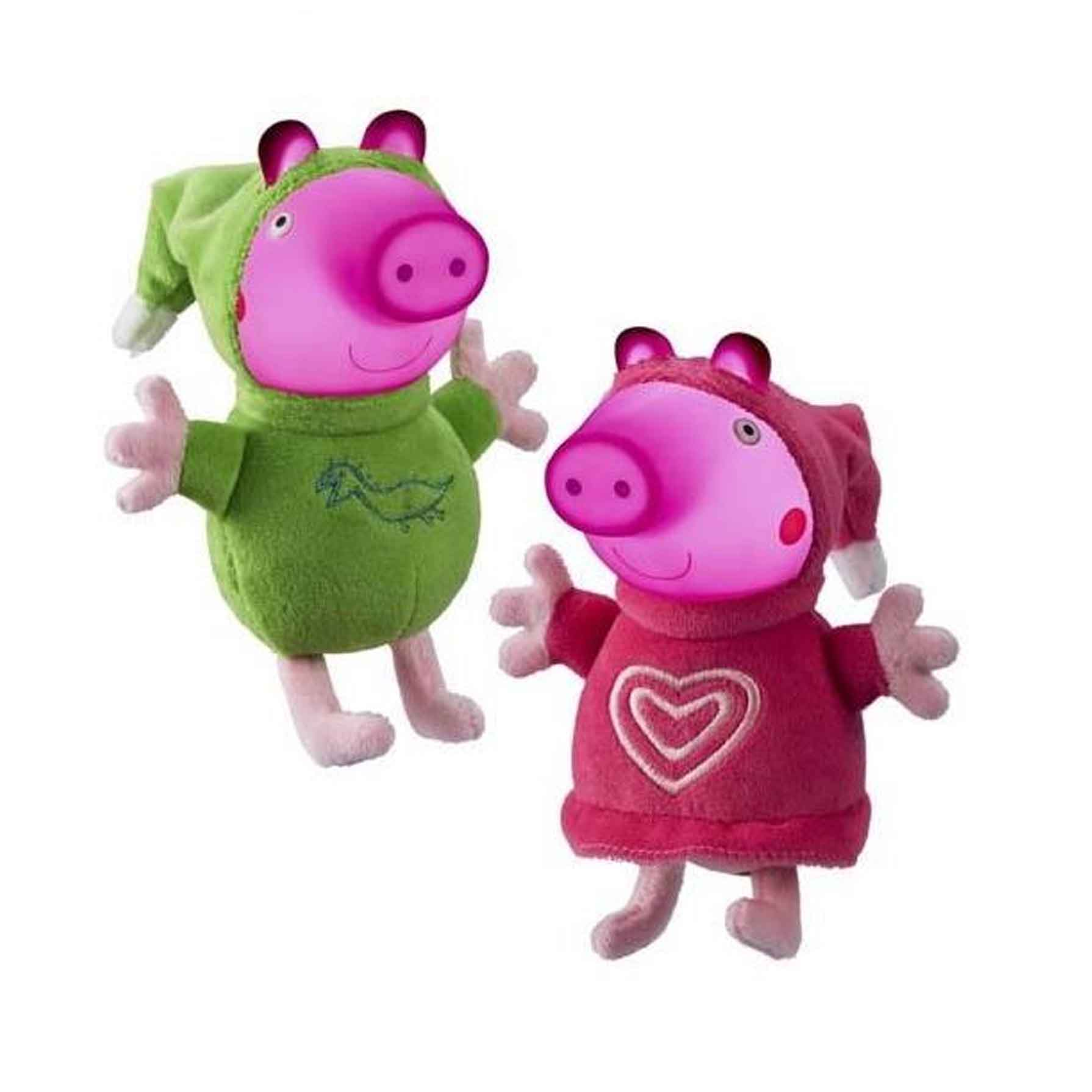 Peppa Pig Peluches con luz Glow Friends