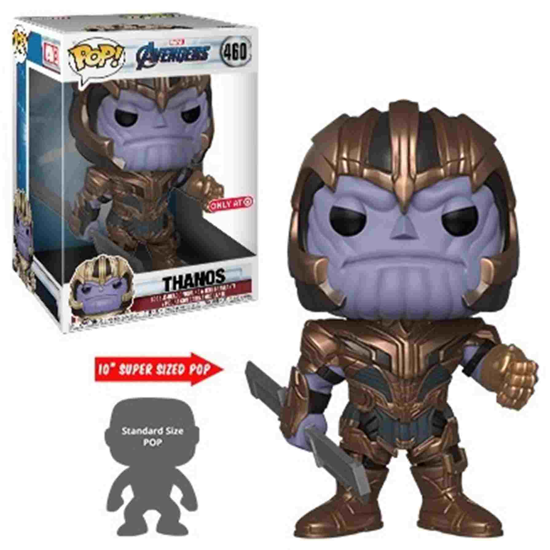 Funko Pop Marvel Avengers Endgame 10 Thanos