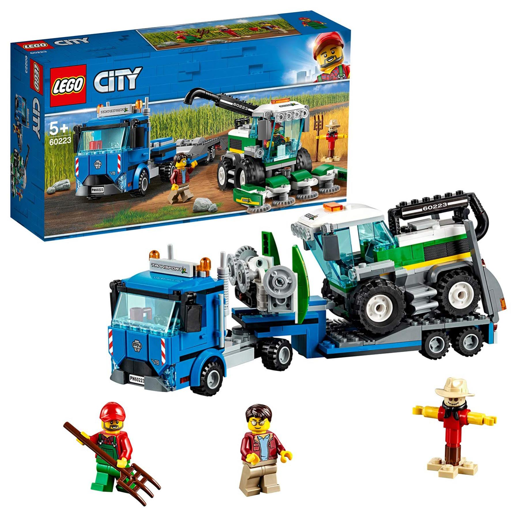 Lego City Great Vehicles Transporte De La Cosechadora
