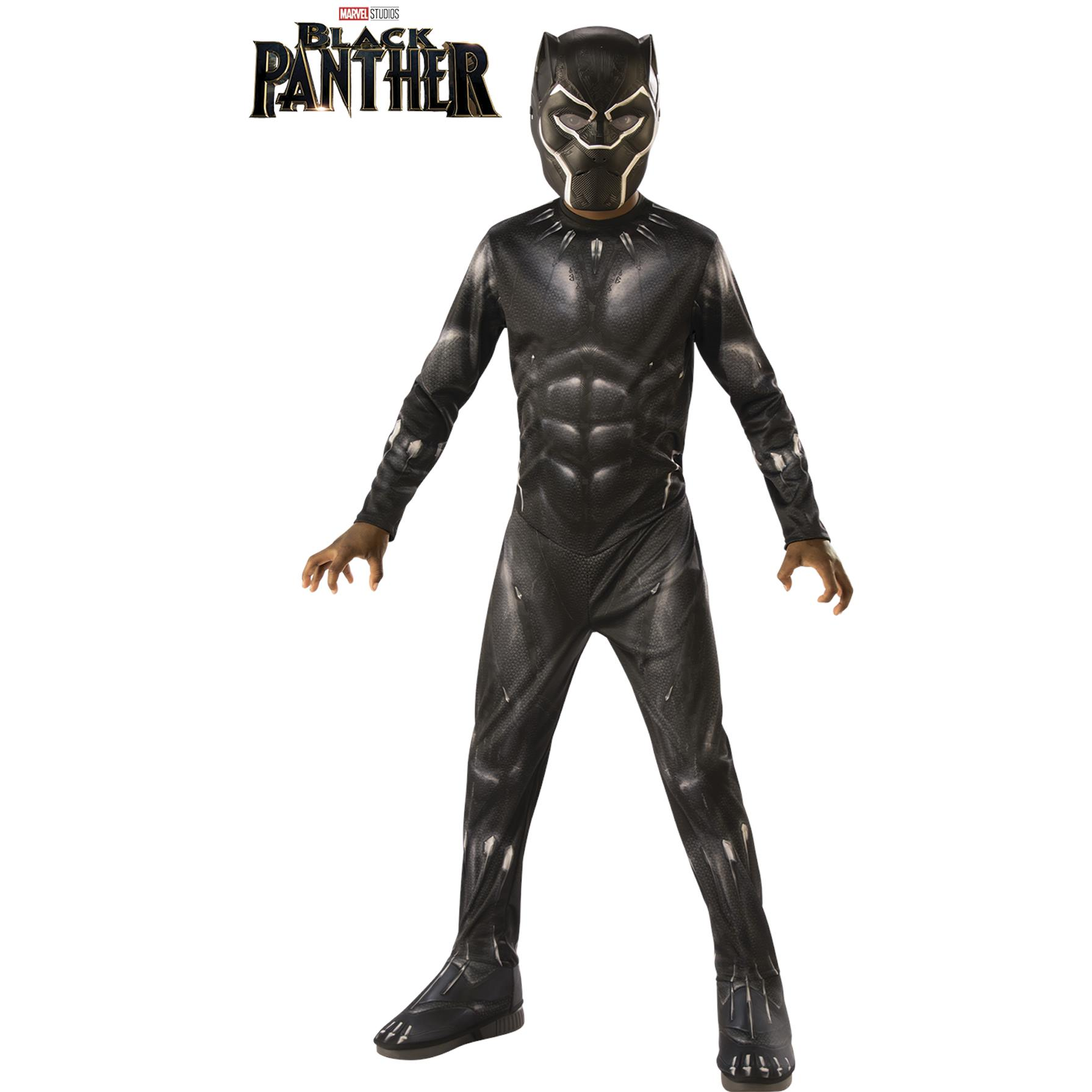 Avengers Disfraz Black Panther End Game Classic Talla 8 a 10 años