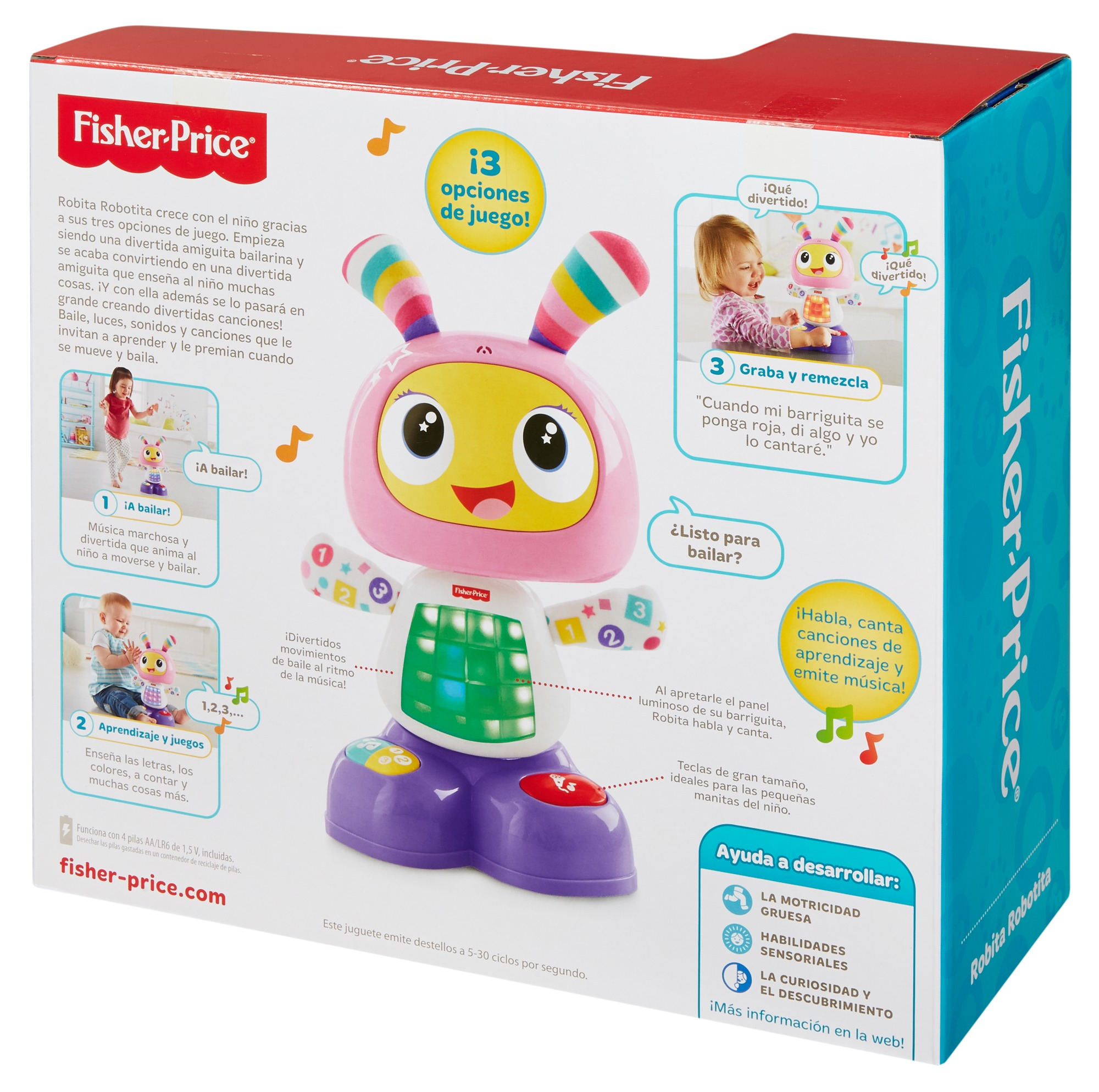 Fisher-Price Robot interactivo Robita