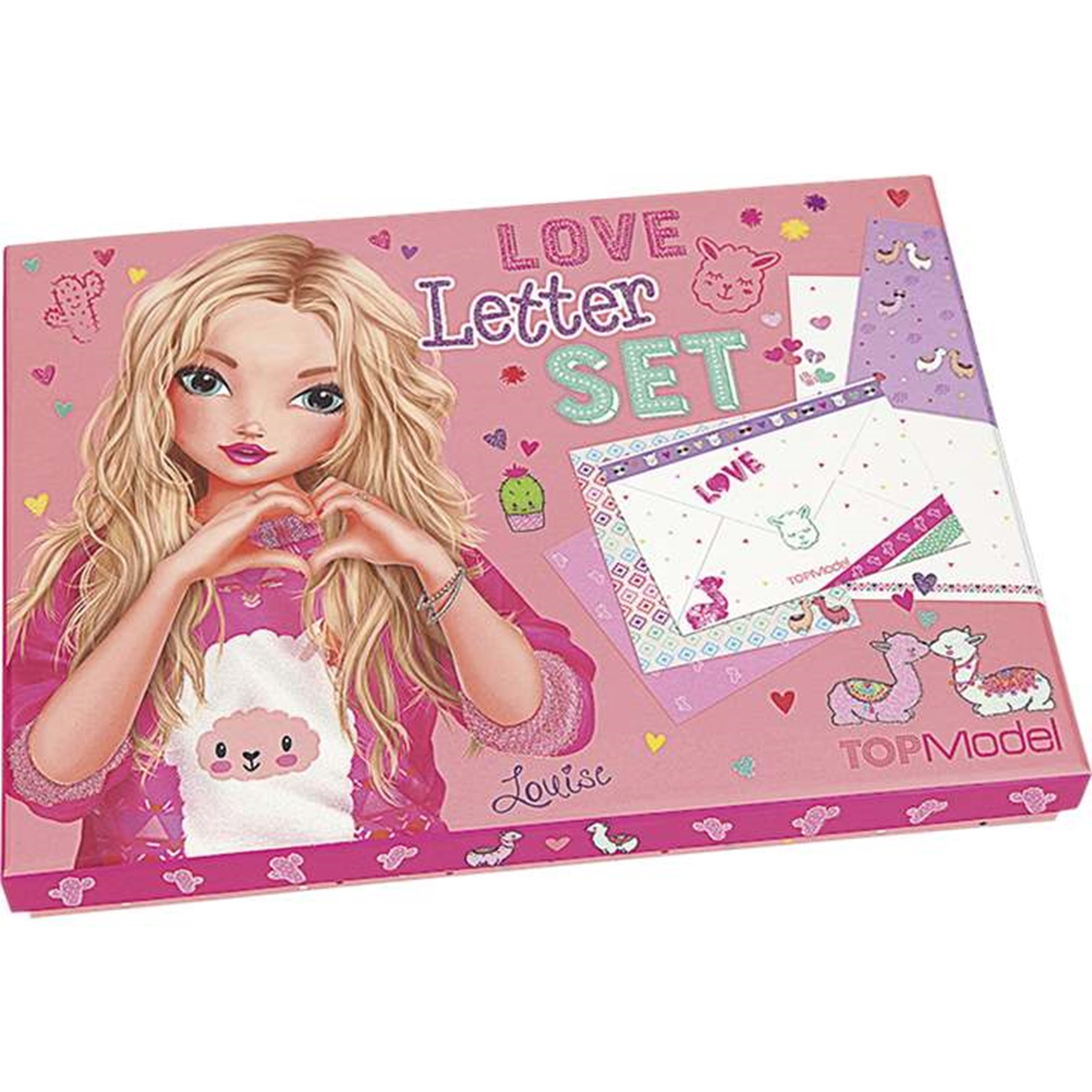 Top Model Love Letter Set Alpaca