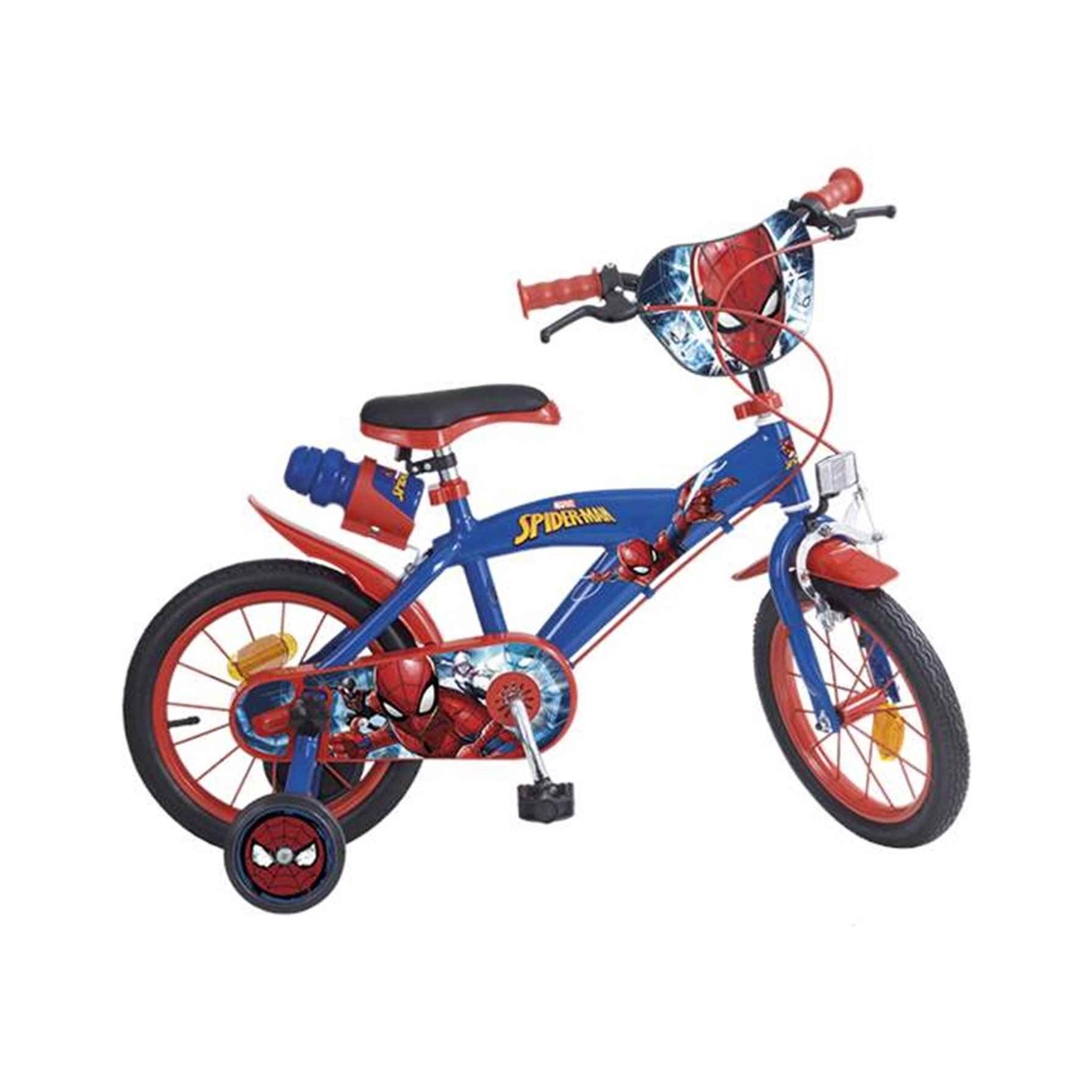 Spiderman Bicicleta 14'