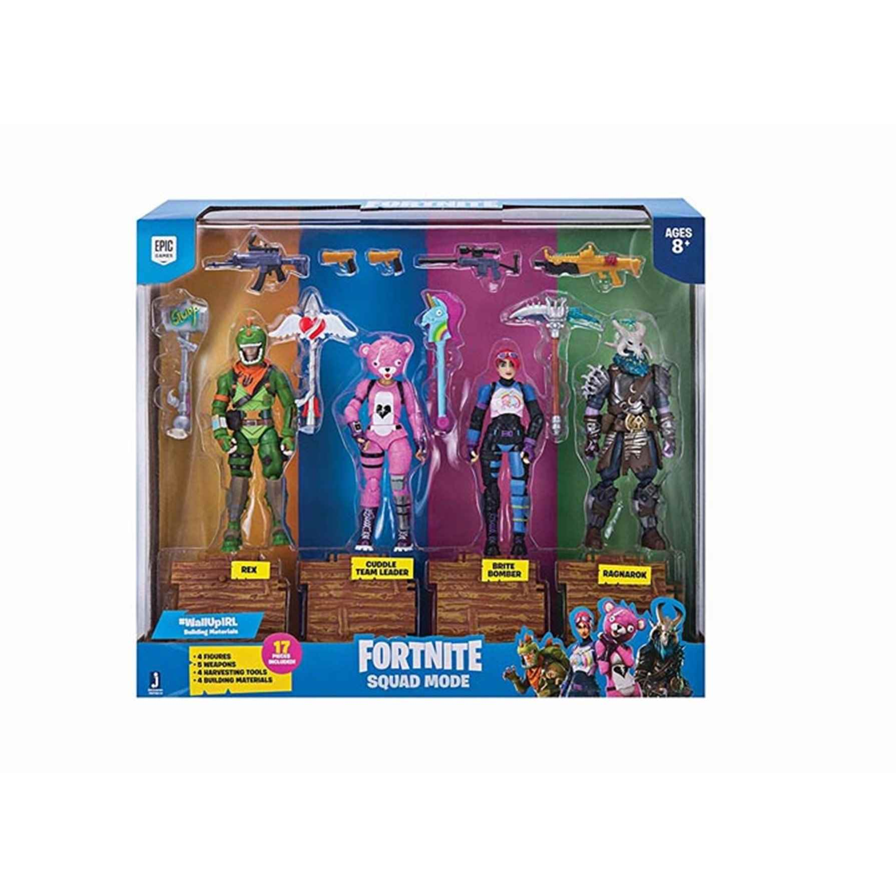 Fornite 4 Figures Pack Squad Mode Core