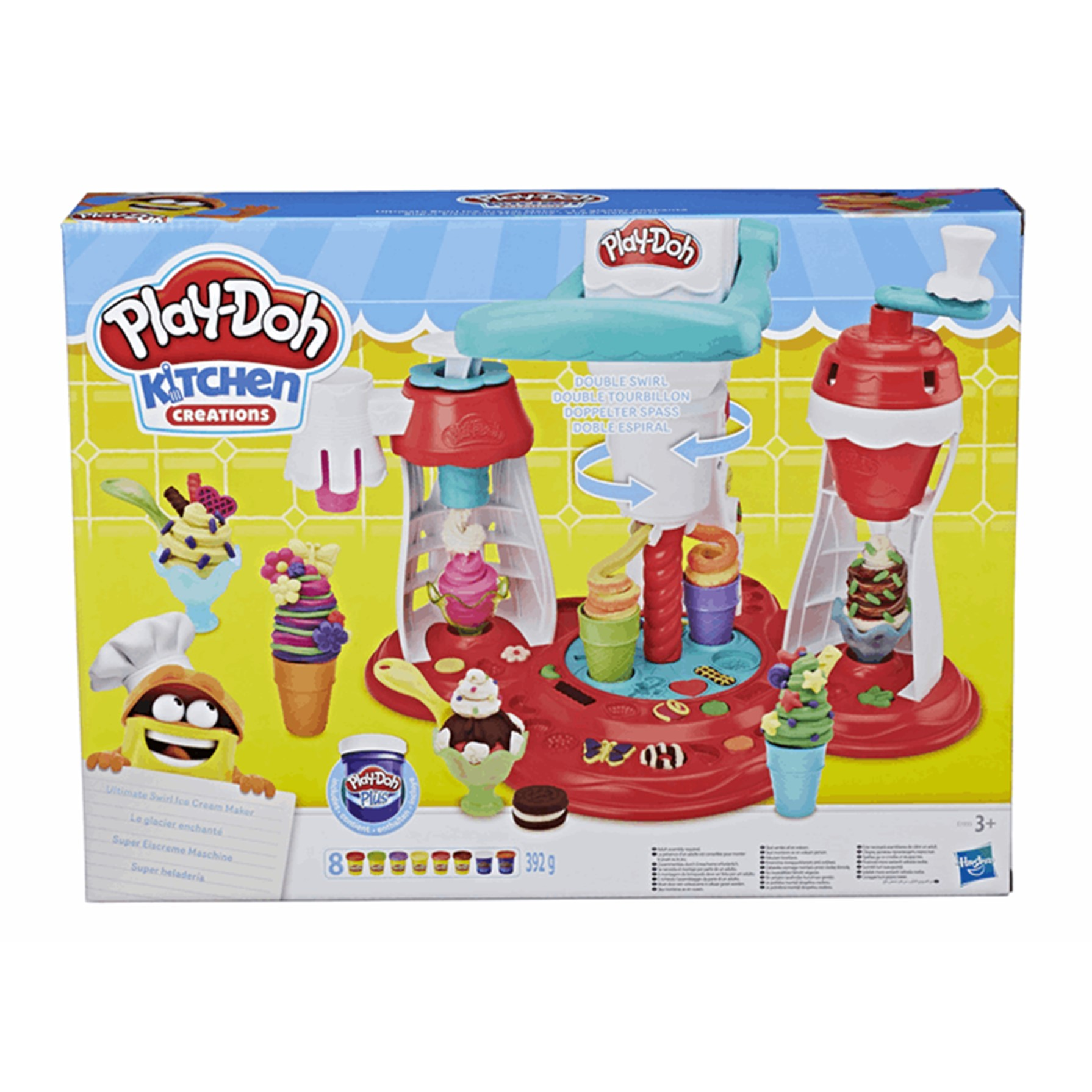Play doh super heladería