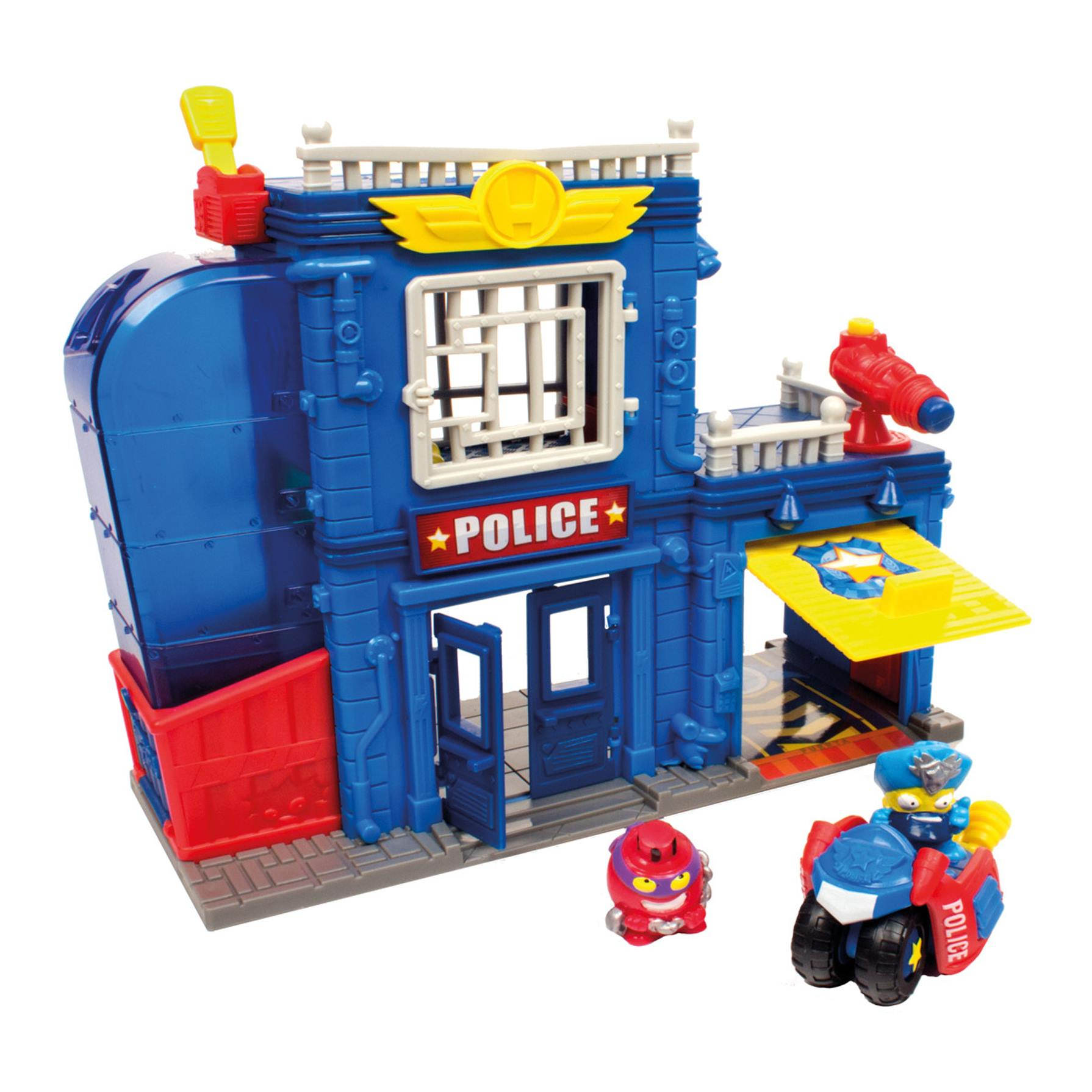 Superzings Playset Police Station