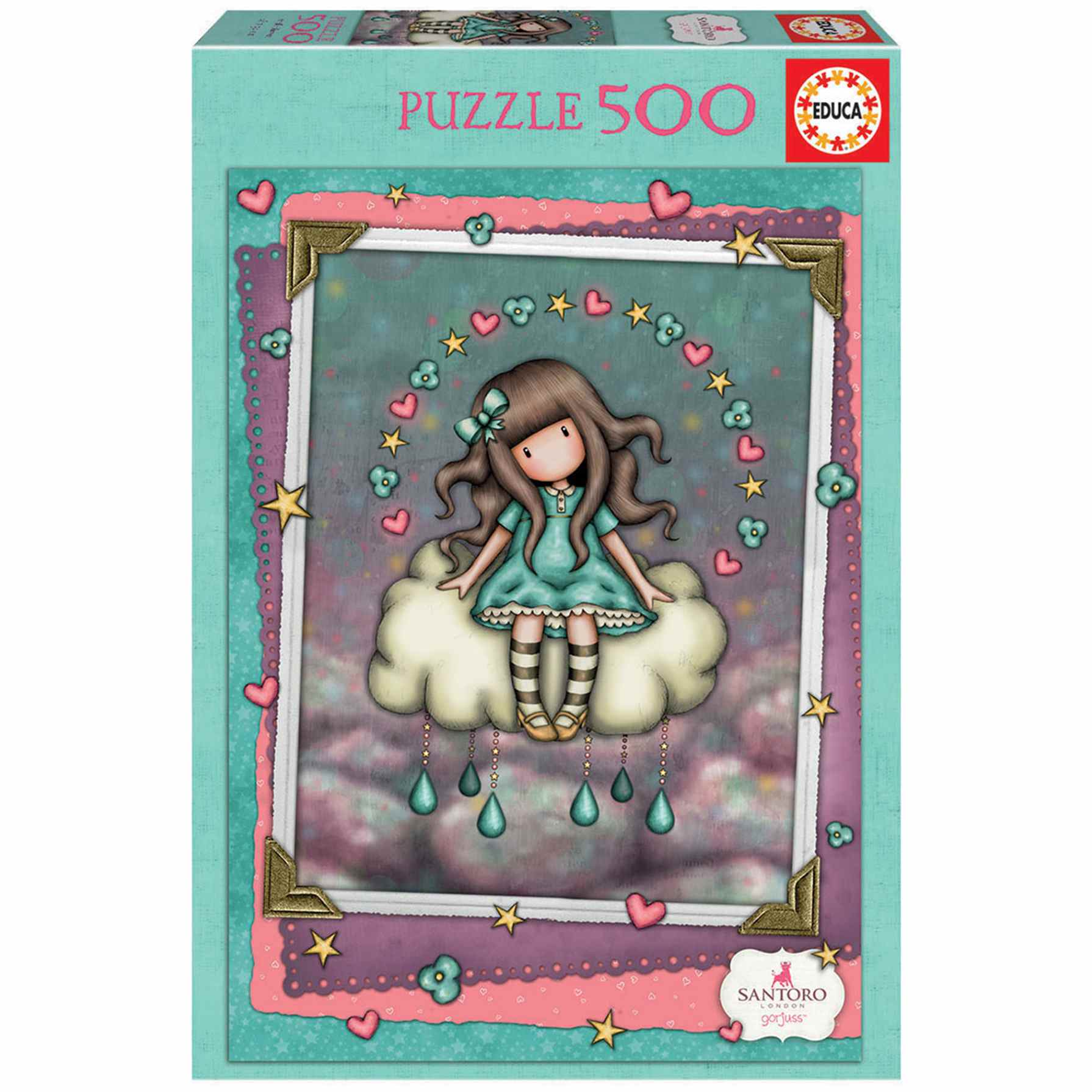 Puzzle Gorjuss April Showers 500 Piezas