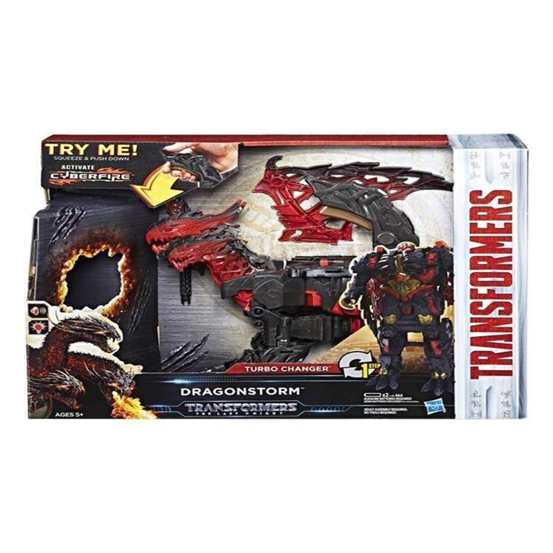 Transformers 5 Turbo Change Dragon