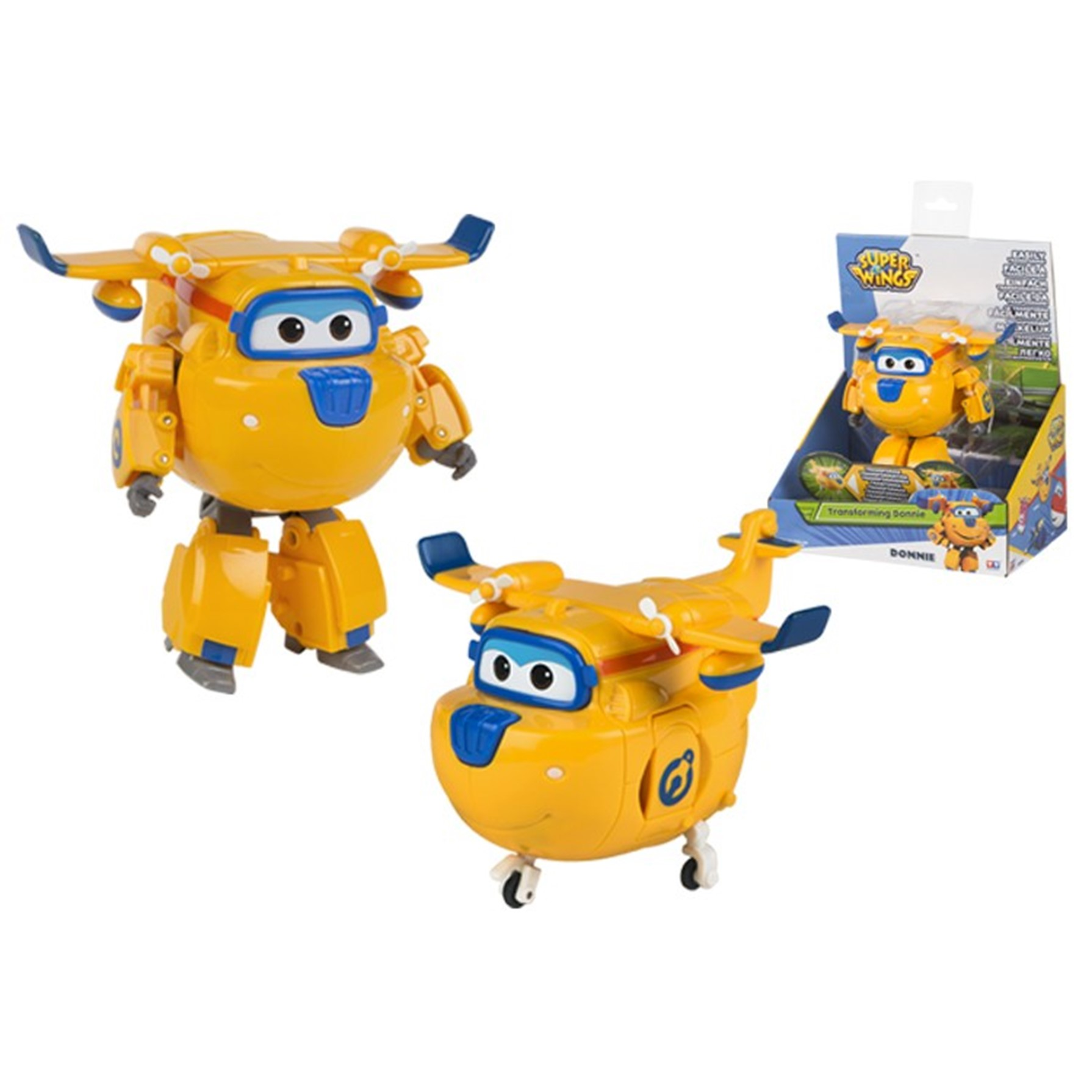 Super Wings Donnie Transforming!