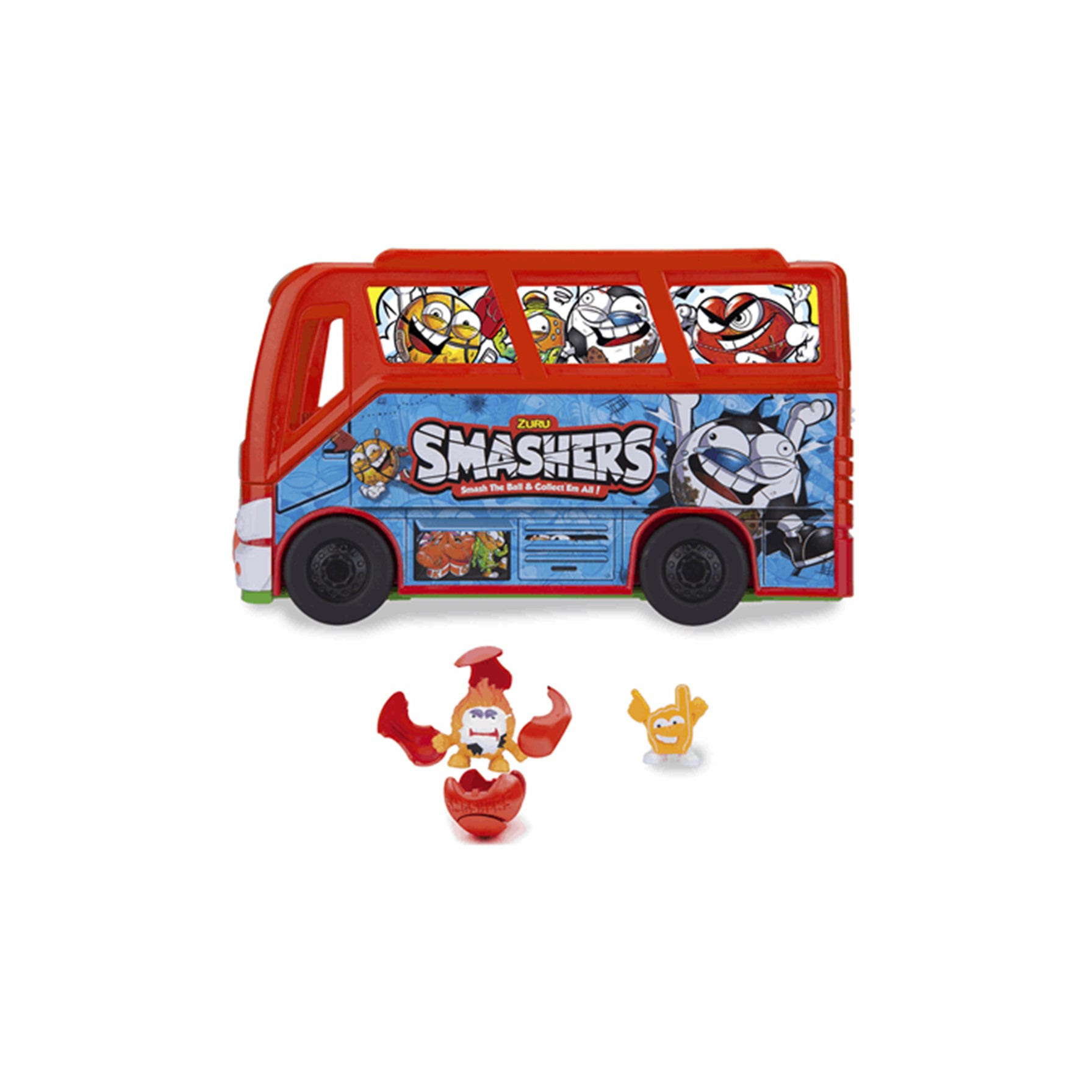 Smashers Team Bus Football