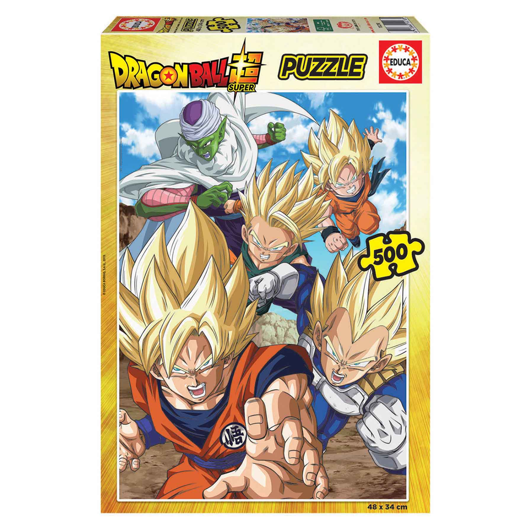 Puzzle Dragon Ball 500 piezas