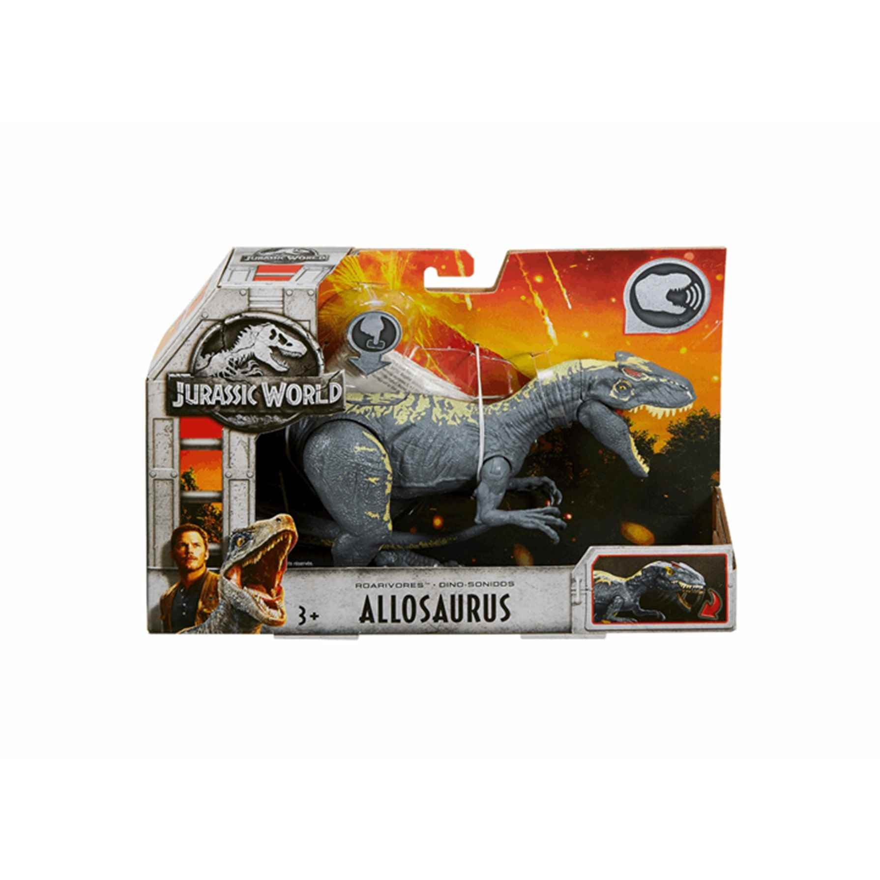 Jurassic World Dino Sonidos Allosaurus