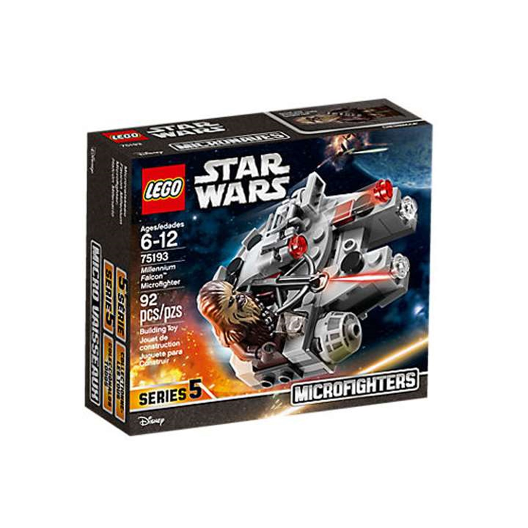 Lego Star Wars Microfigher: Halcón Milen