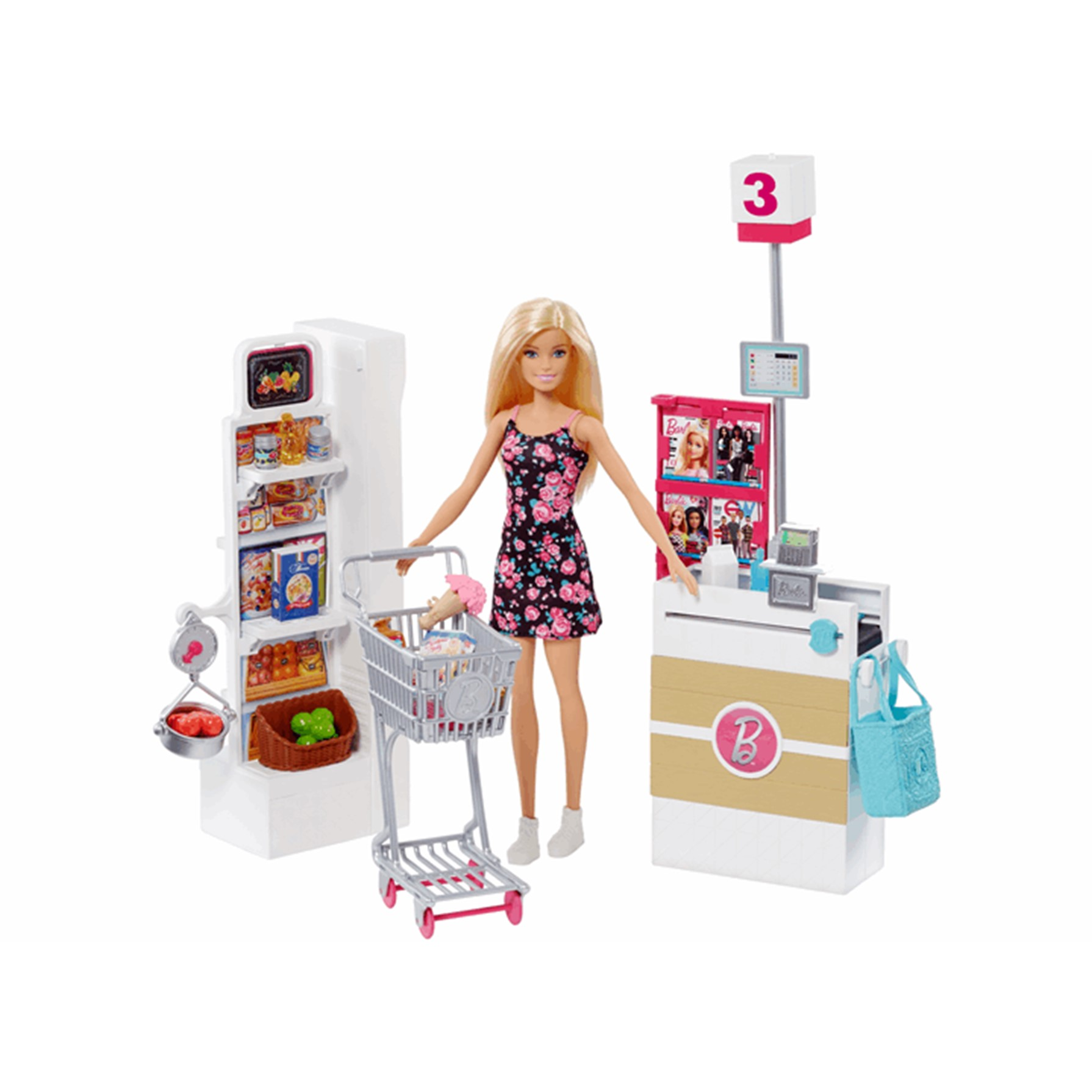 Barbie Vamos al Supermercado