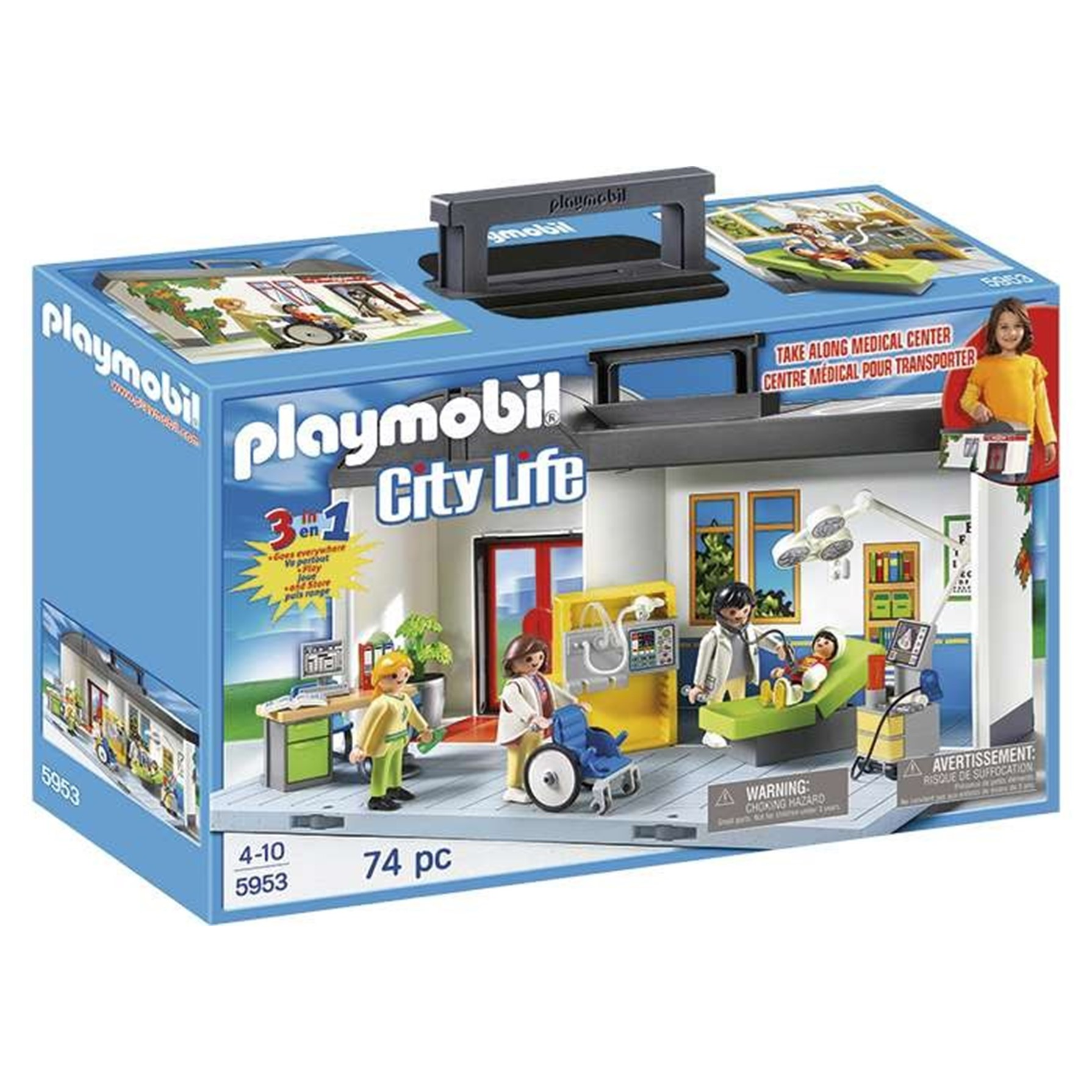 Playmobil Maletín Hospital