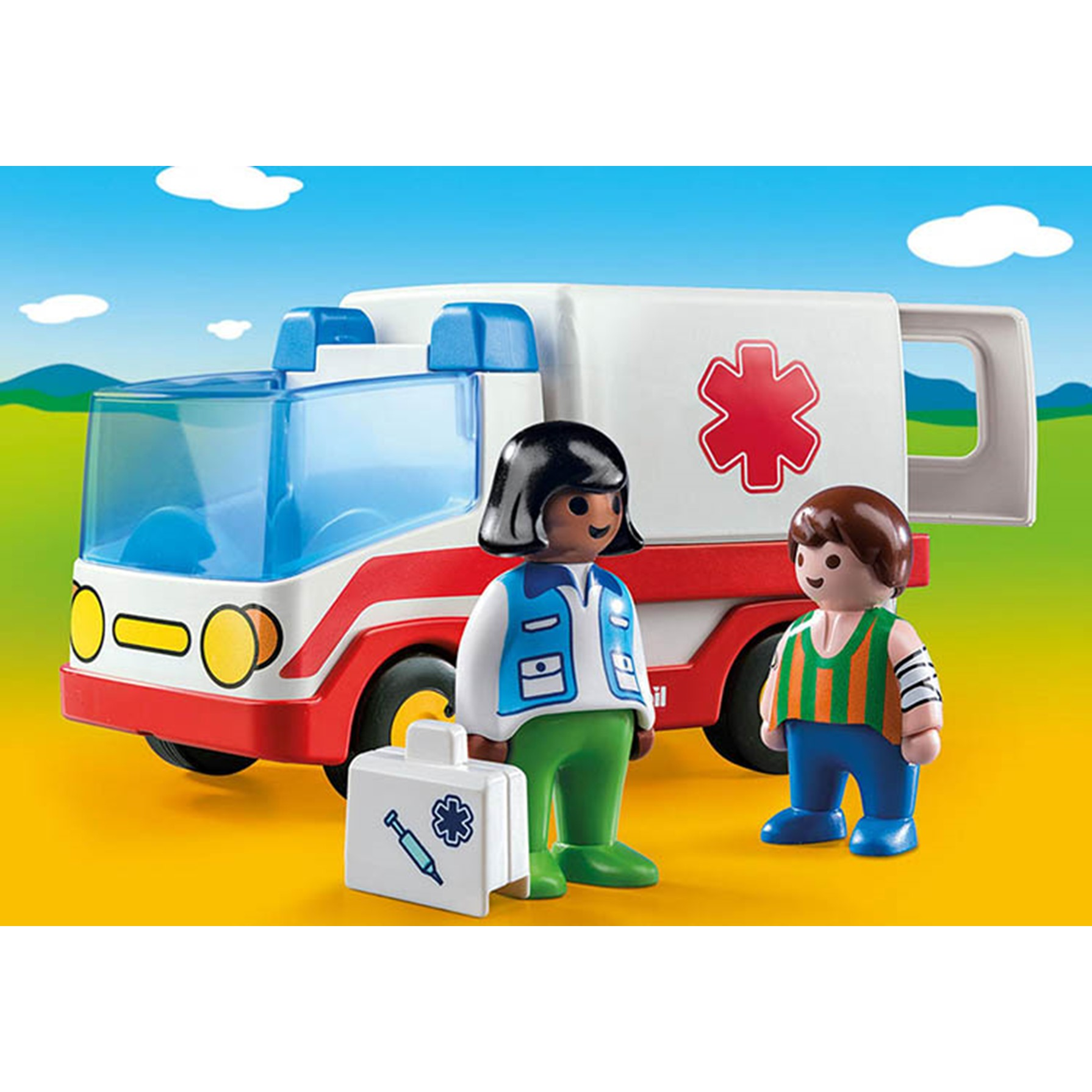 Playmobil 1.2.3 Ambulancia 9122