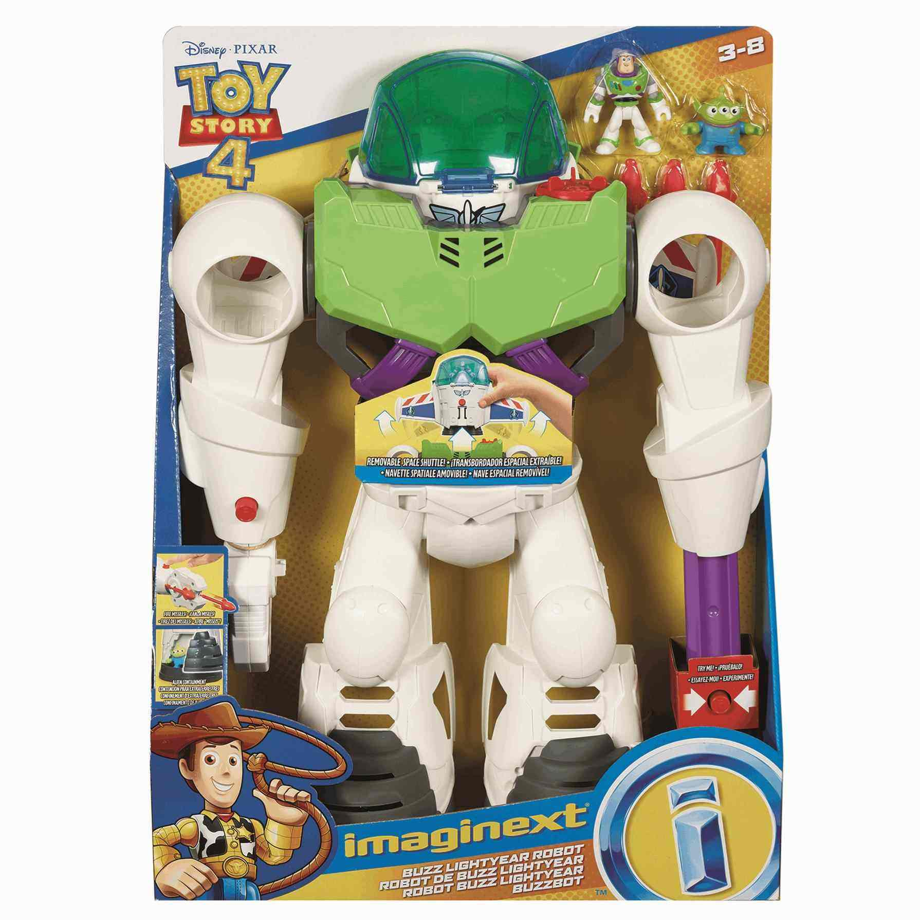 Disney Toy Story 4 Robot Buzz Lightyear