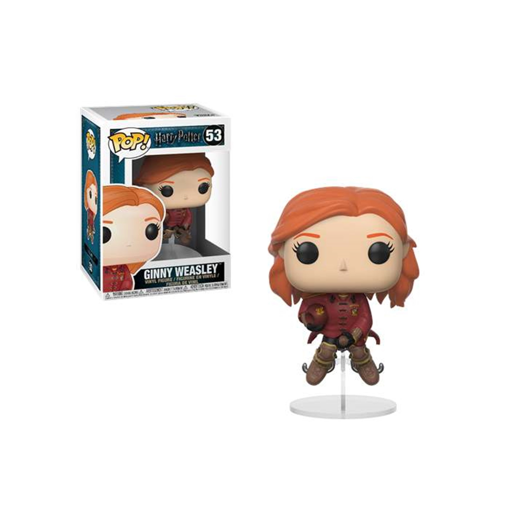 Funko POP Harry Potter Ginny en Escoba