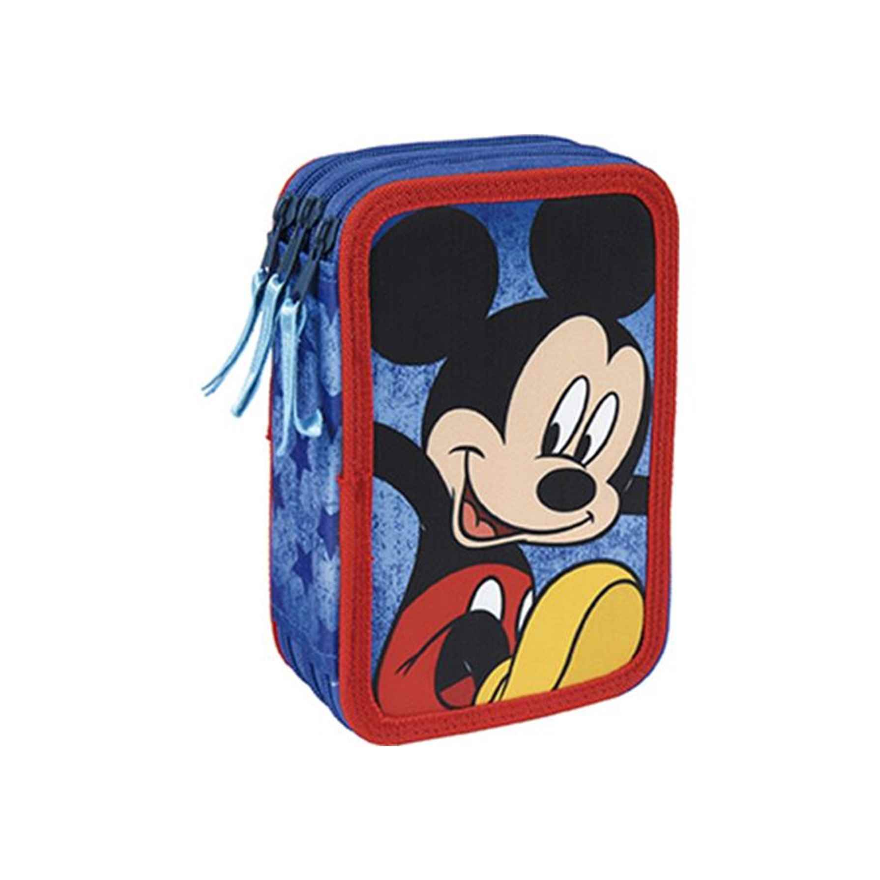 Mickey Mouse Plumier Triple Giotto