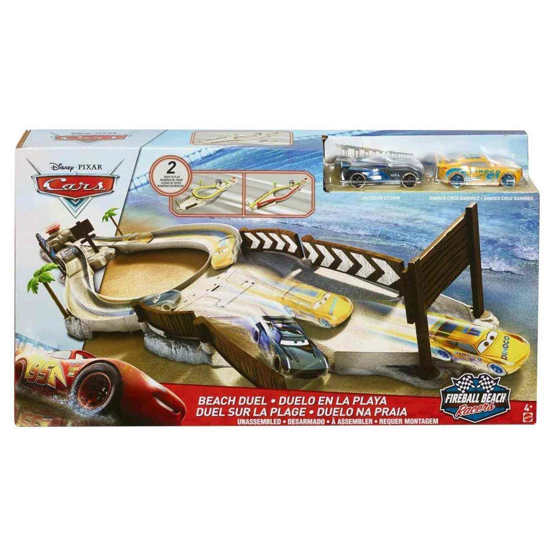 Cars Fireball Beach Racers Beach Duel Playset