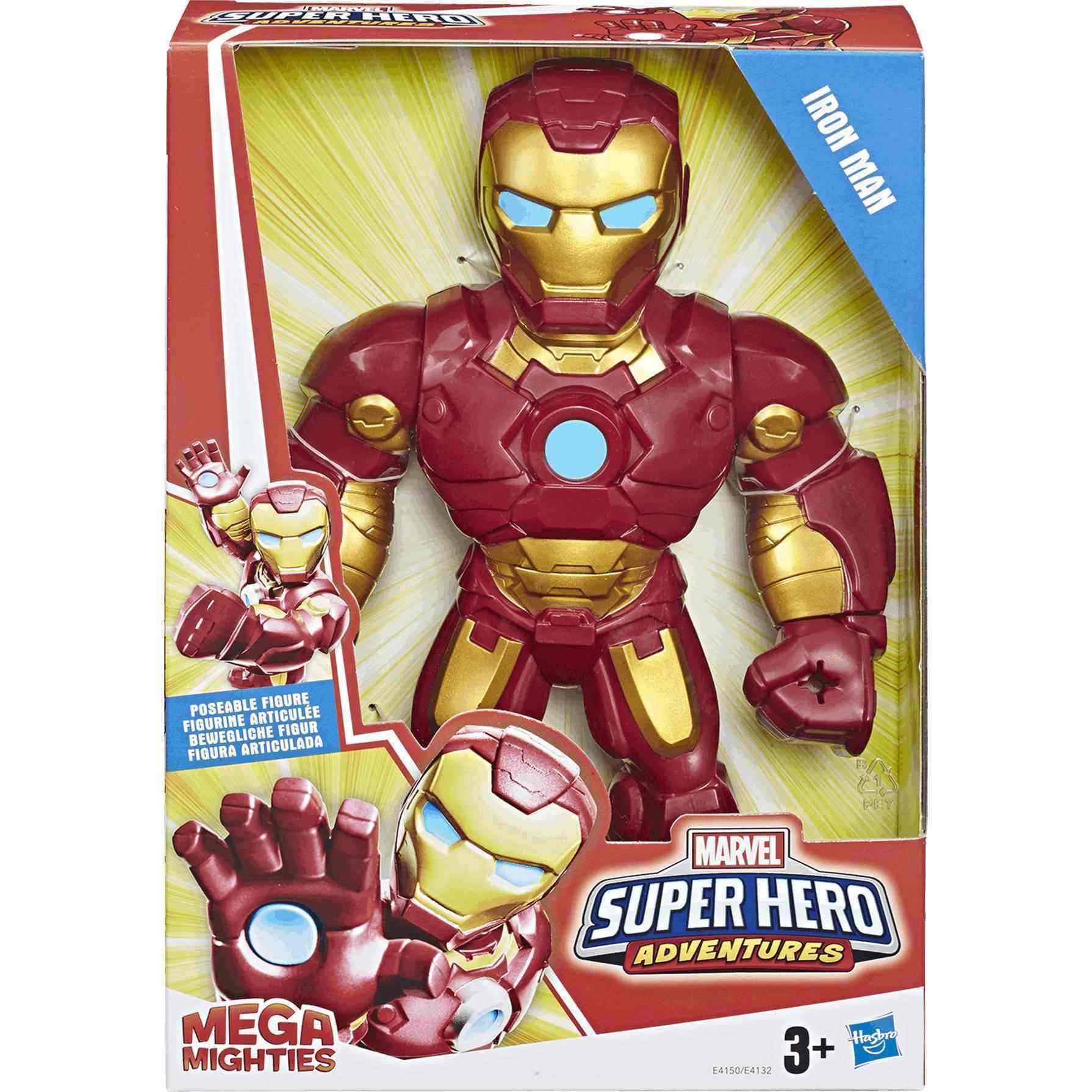 Iron Man Marvel Figura Mega Mighties