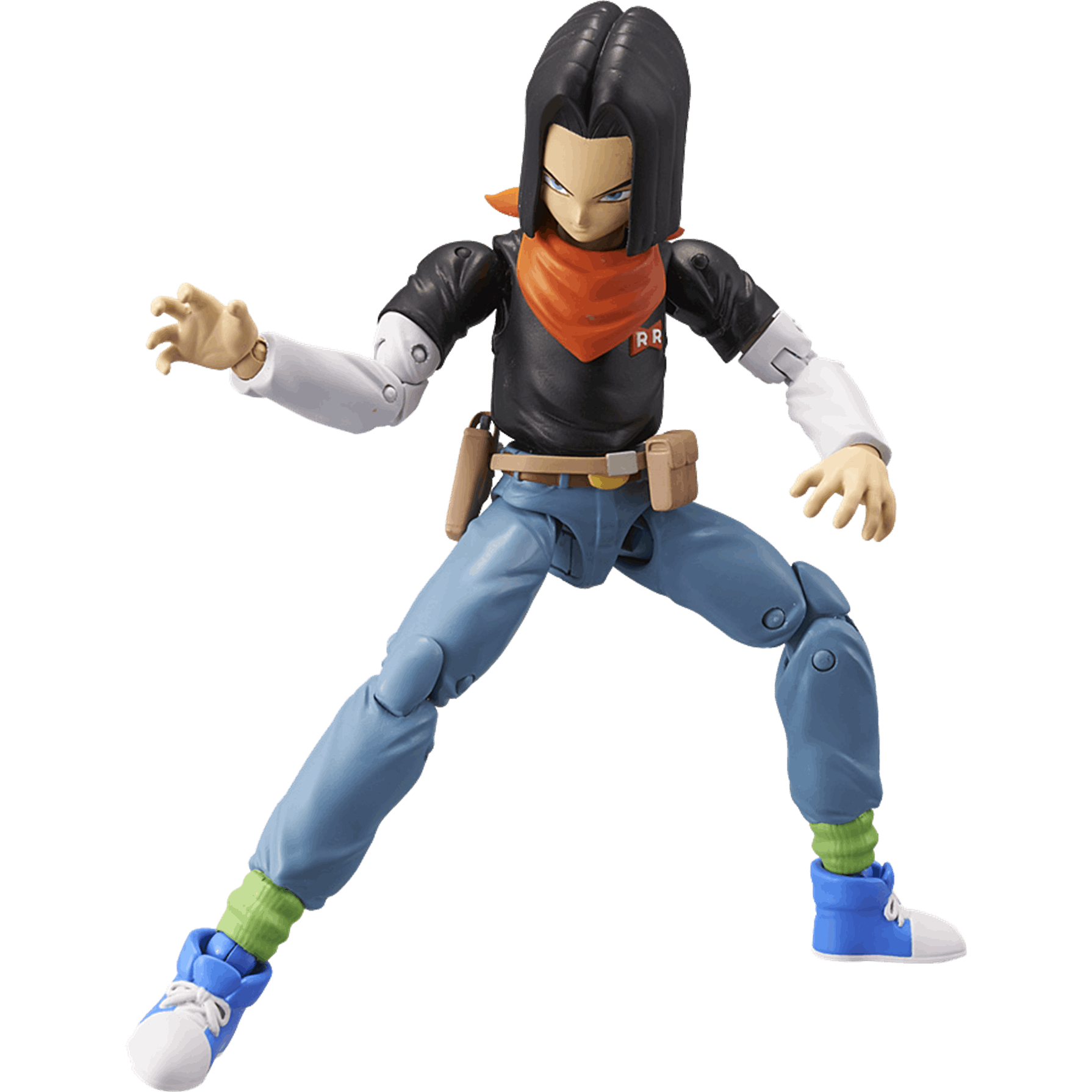 Dragon Ball Androide 17 Figura Deluxe