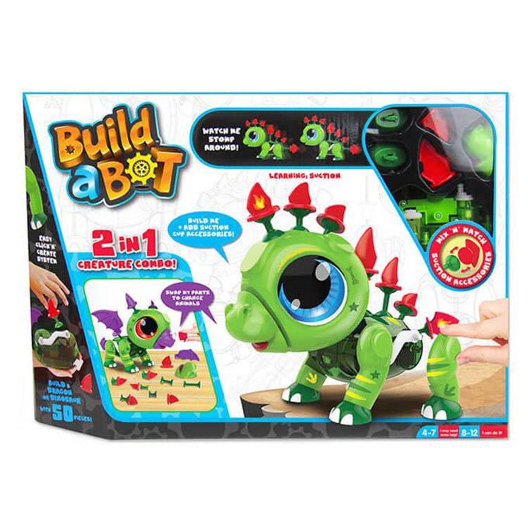 Build a Bot Suctions: Dino/Dragon